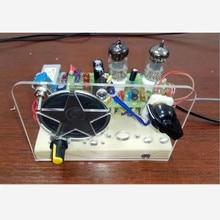 Zestawy modulacji częstotliwości radiowej pęcherzyka żółciowego, dwie lampy FM, lampa elektronowa super regeneracyjna, klakson napędowy 6J1 + 6J1