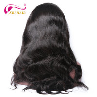 XBLHAIR Brazilian Virgin Hair Body Wave Full Lace Human Hair Wigs Human Hair With Natural Hairline Natural Color