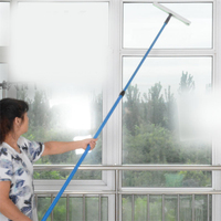 LK15 2m 2 6m Double Side Window Glass Cleaning Tools Telescopic Pole Window Cleaning Cloth Glass