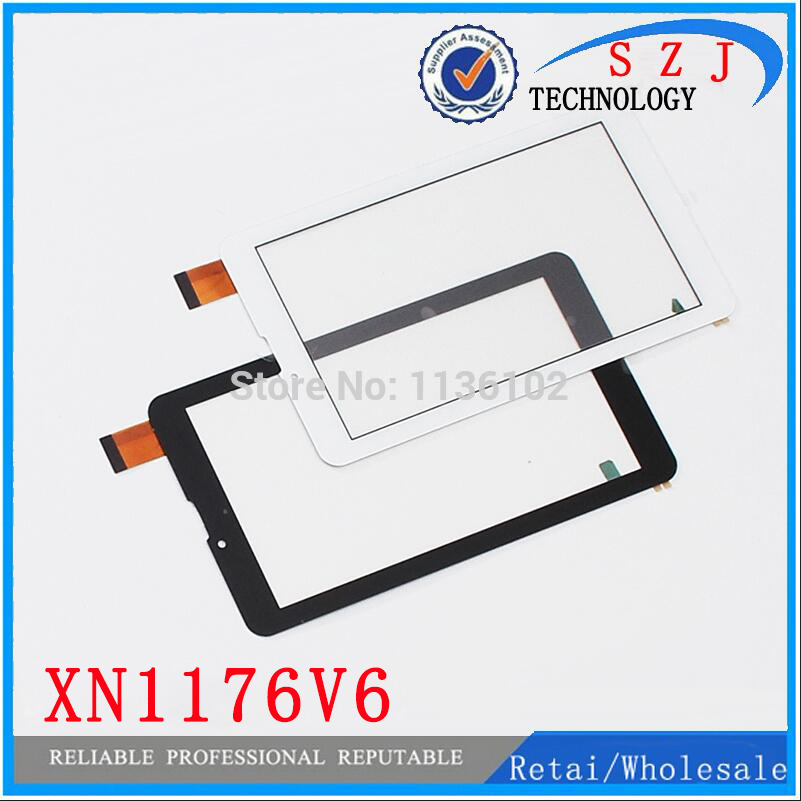 New 7'' inch Touch Screen XN1176V6 For Ritmix RMD-753 Tablet Touch Panel Sensor Replacement Free Shipping 100pcs black new 7 inch tablet capacitive touch screen replacement for pb70pgj3613 r2 igitizer external screen sensor free shipping