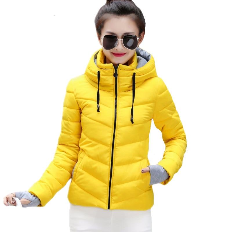 2018 new ladies fashion coat winter jacket women outerwear short wadded jacket female padded parka women's overcoat 2