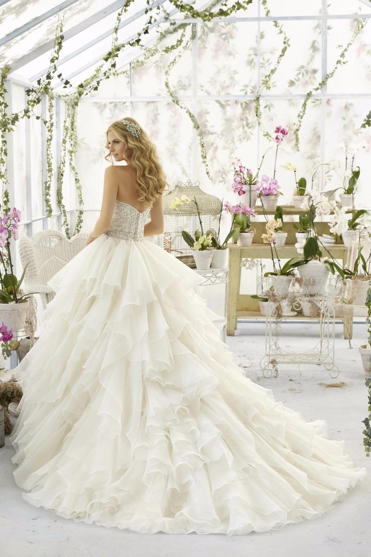потрясающие рукавов кружева свадебные платья 2017