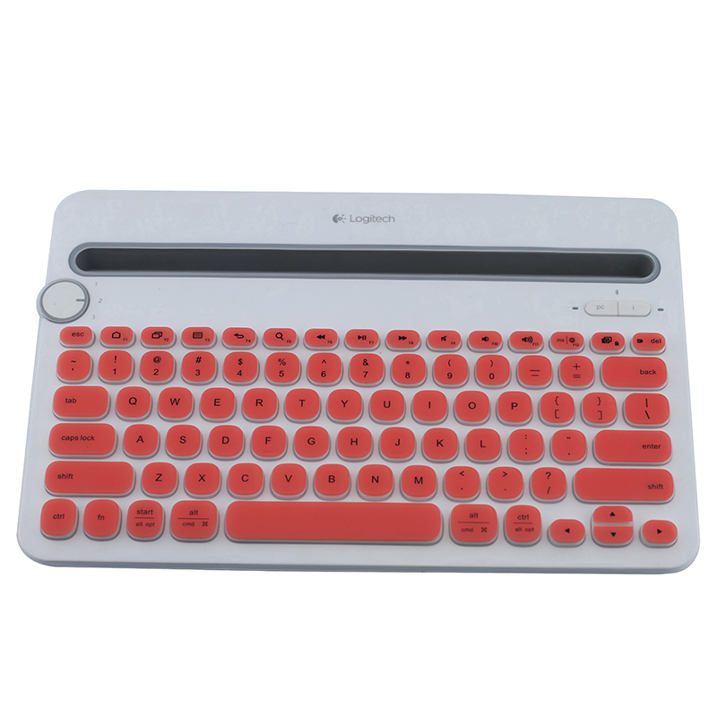 5ed18eca45e For Logitech K480 Silicone Dustproof mechanical Wireless Bluetooth Desktop keyboard  Cover Protector Dust Cover Film-in Keyboards from Computer & Office on ...
