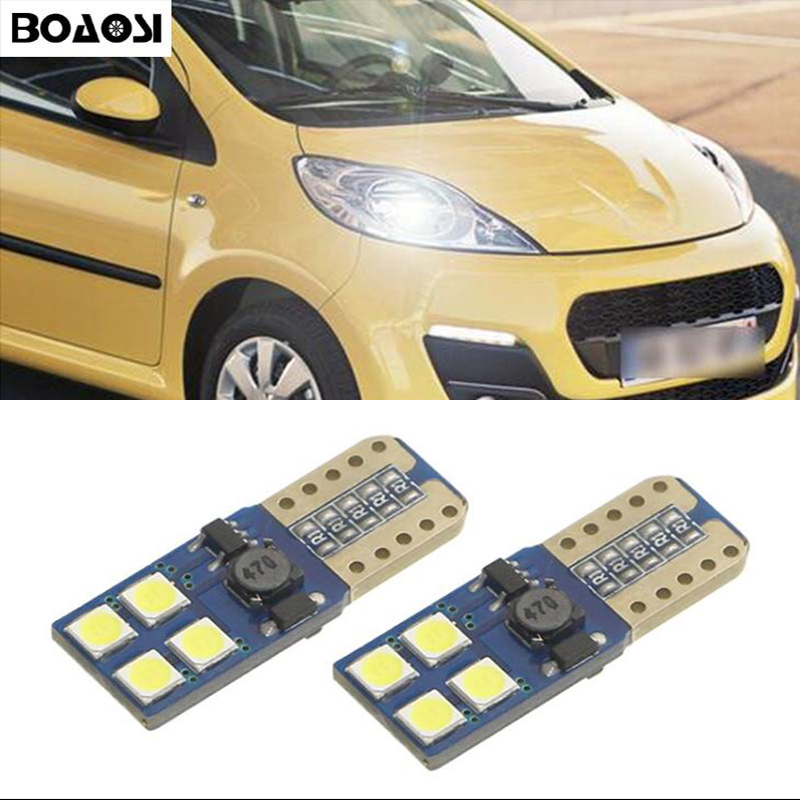2x W5W LED W5W LED Car LED Auto <font><b>Lamp</b></font> Eyebrow Eyelid Light Parking For <font><b>Peugeot</b></font> 307 206 <font><b>301</b></font> 207 2008 508 <font><b>301</b></font> 3008 406 507 208 image