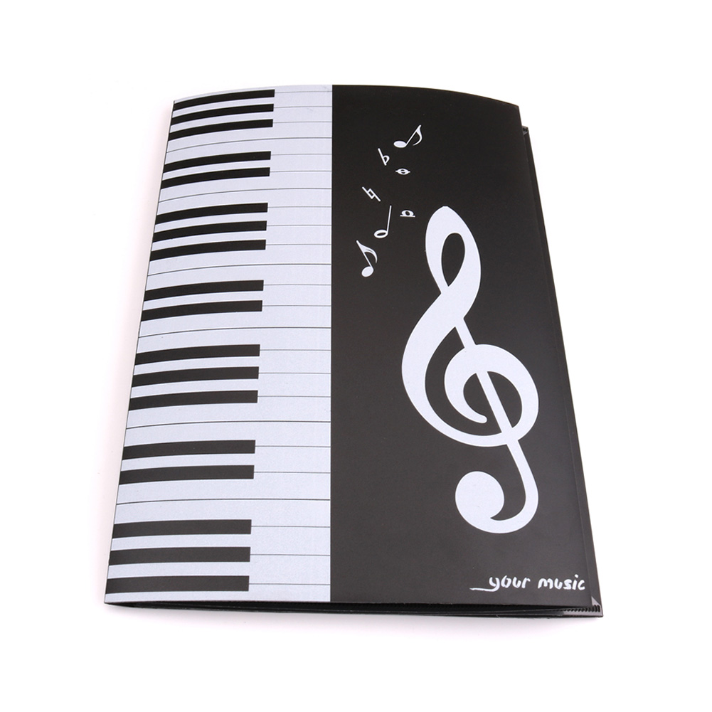 Expanded Sheet Music Score Folder A4 Size Document Paper Staff Collection &T8