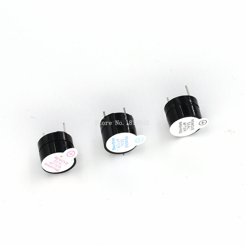 10PCS/LOT 3v 5v 12v Active Buzzer Magnetic Long Continous Beep Tone 12*9.5mm