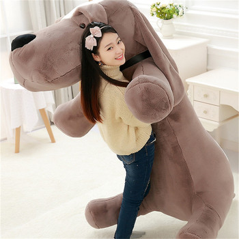 200cm Stuffed Toys Dog Oversized Big Eyes Dog Doll Cute Stuffed Animals Plush Toy Gifts for the New Year Juguetes Brinquedo