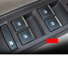 Lsrtw2017 Stainless Steel Car Window Control Button Trims for Buick Regal Opel Insignia 2009-2020