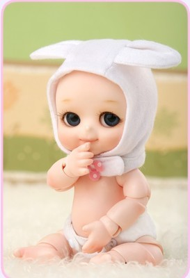 Luodoll LUTS Tiny Delf series TYLTYL elf ears 1/8 sd bjd doll(include and eyes)