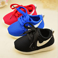 Niños sport casual shoes running shoes moda infantil chicos chicas red shoes 3 colores bebé shoes 21-30 para 1-6year