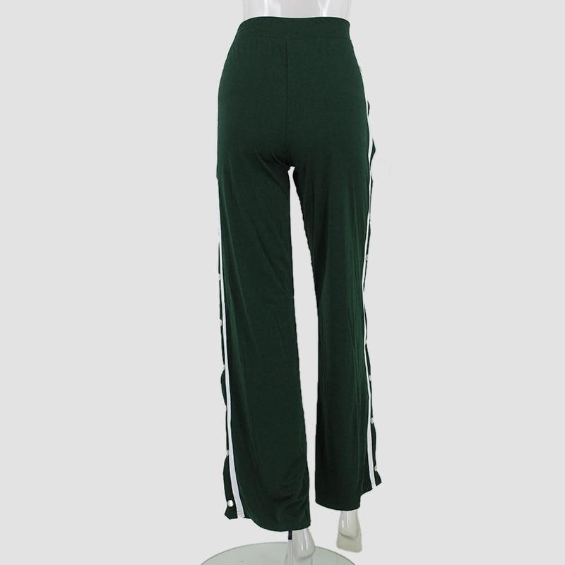 HTB1lwtsSpXXXXXyaVXXq6xXFXXX4 - Red button track pants runway Women's wide leg trousers casual pants JKP012