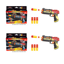 Childrens Toy Paintball Gun Infrared Pistol Soft Bullet Plastic Toys CS Game Crystal Air Party Gift SQ012