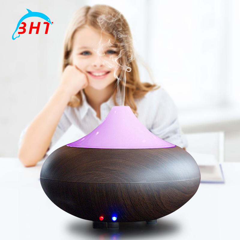 Ultrasonic Humidifier Aromatherapy Air Diffuser Electric Aroma Fogger Led Light Essential Oil For Home Office