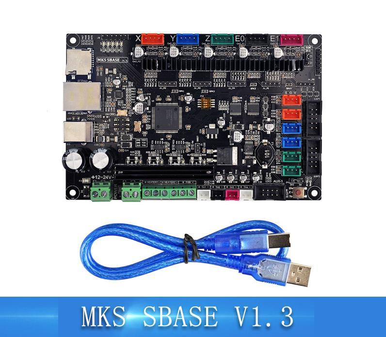 3D imprimante carte mère MKS SBASE V1.3 open source firmware 32 peu carte mère compatible avec Smoothieware
