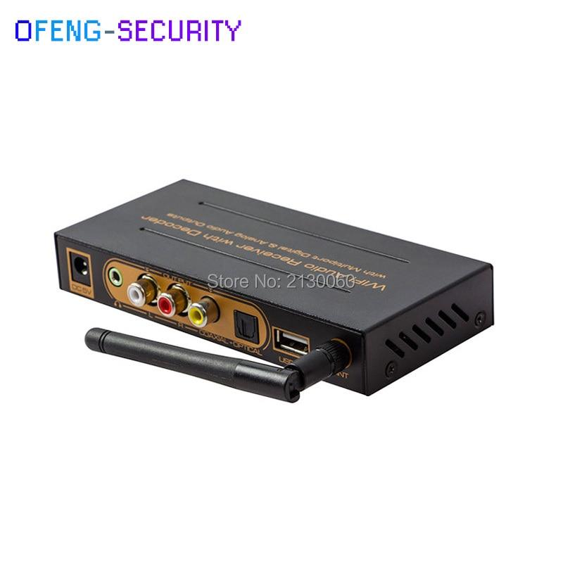 Wireless WiFi Audio Receiver With Deocder, 2.4-2.4835GHz Wireless Frequency