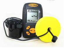 1pcs /lot Portable Sonar LCD Fish depth Finder, Alarm 100M AP,fishing iure,ice fishing finder echo sounder with retail box