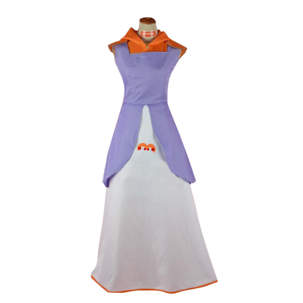 South Park Cosplay Princess Kenny Dress Cosplay Costume Halloween Carnial Cosplay Costume For Women chic buttoned skinny women s police cosplay costume