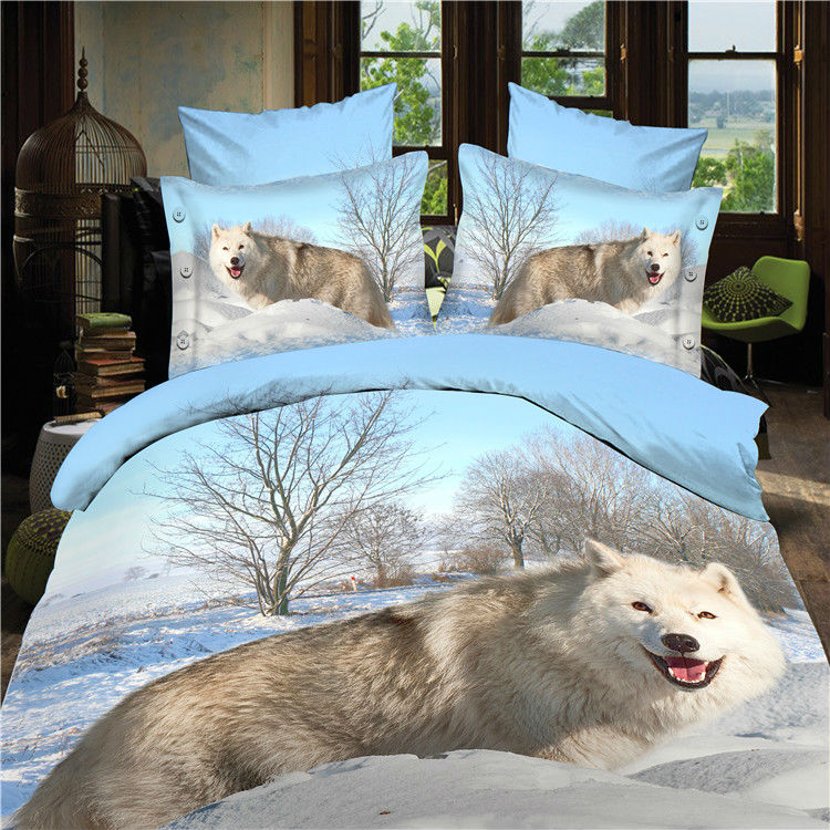Bed Queen Bag Wolf Discount