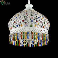 Bohemian Lustre Crystal Led Chandeliers Lighting Simple Metal Led Pendant Chandelier Lighting Led Hangig Light Luminaire Fixture(China)