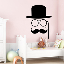 classic handlebar mustache wall sticker animal lover home decoration rh niceprice today Room Decorating Ideas kids room decorating ideas pinterest