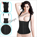 waist cincher Latex Body Hot Shaper Steel Boned Waist Corset shaper Corset Top Chest Binder Steel Boned  slimming Waist Cincher