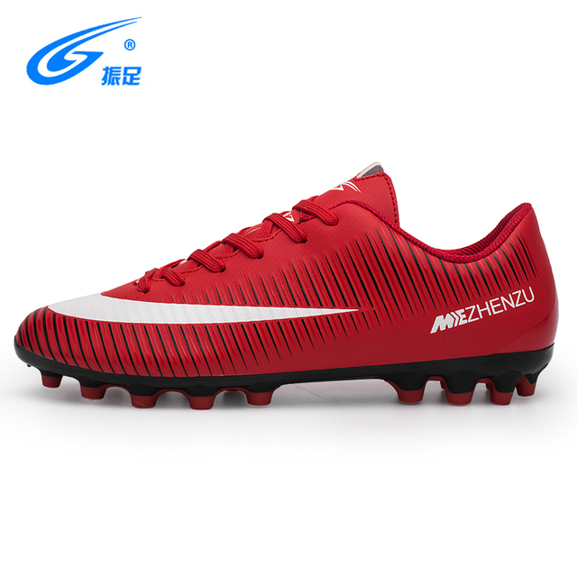 ZHENZU Brand Professional Soccer Football Shoes Men Women Outdoor AG Soccer Cleats Athletic Trainers Sneakers Adults Boots
