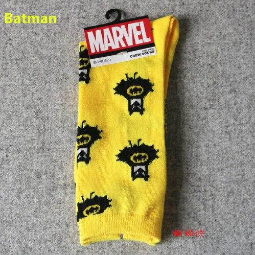 3906b9e5c ... Batman Captain America Socks Men Personalized Sokken Warm Winter  Household Socks. For Men