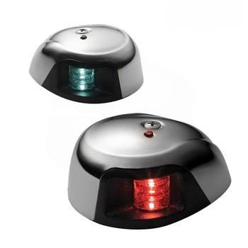 3500 시리즈-해양 보트 요트 1 해상 마일 led 네비게이션 라이트/레드 & 그린 led 포트 및 스타 보드 사이드 라이트-한 쌍