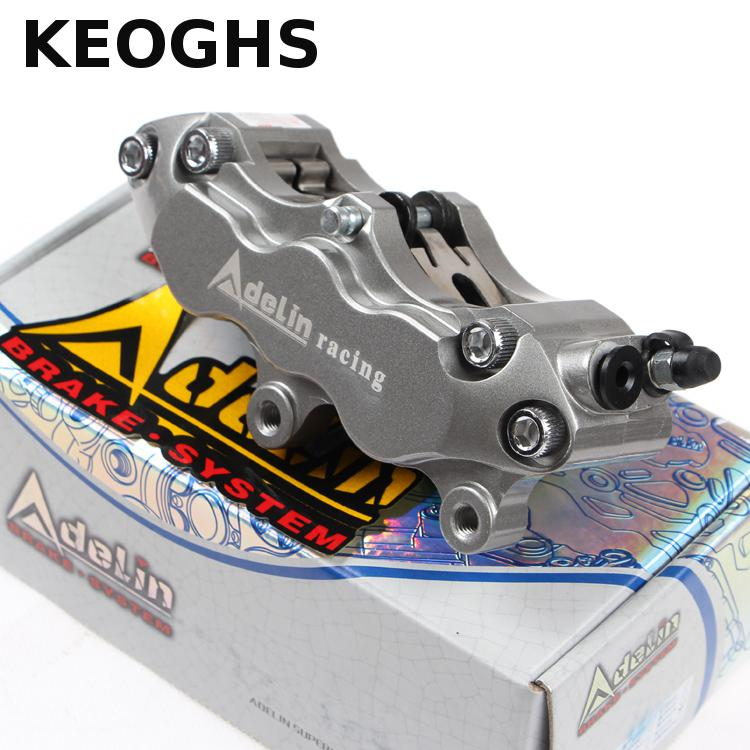KEOGHS Motorbike Brake Calipers Adelin 6 Pistons Forged Aluminum For Honda Yamaha Kawasaki Scooter Dirt Bike Street Bike Modify keoghs motorbike rear brake caliper bracket adapter for 220 260mm brake disc for yamaha scooter dirt bike modify