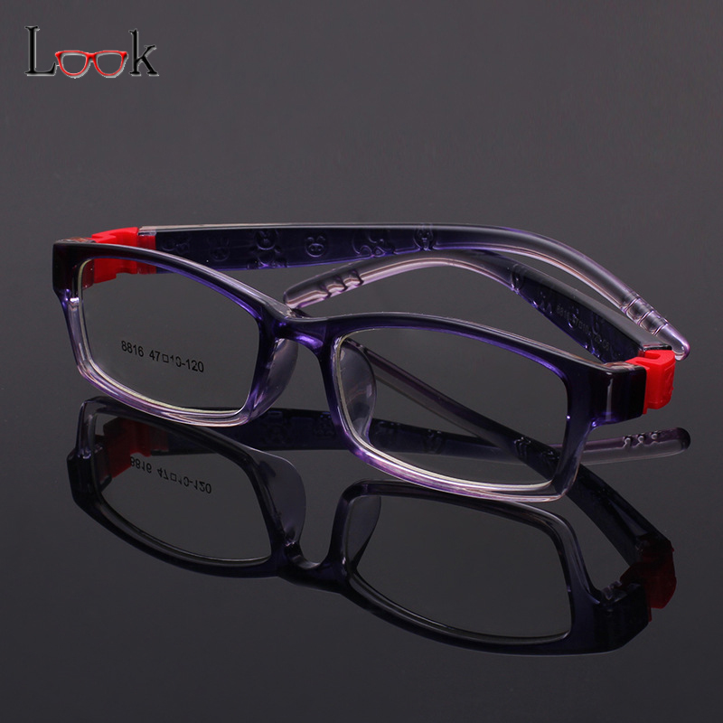 2018 TR90 Children Optical Frame Eyewear Wholesale Eyeglasses Sports Style Girls Boys Kids Glasses Frames Safe Material Silicone