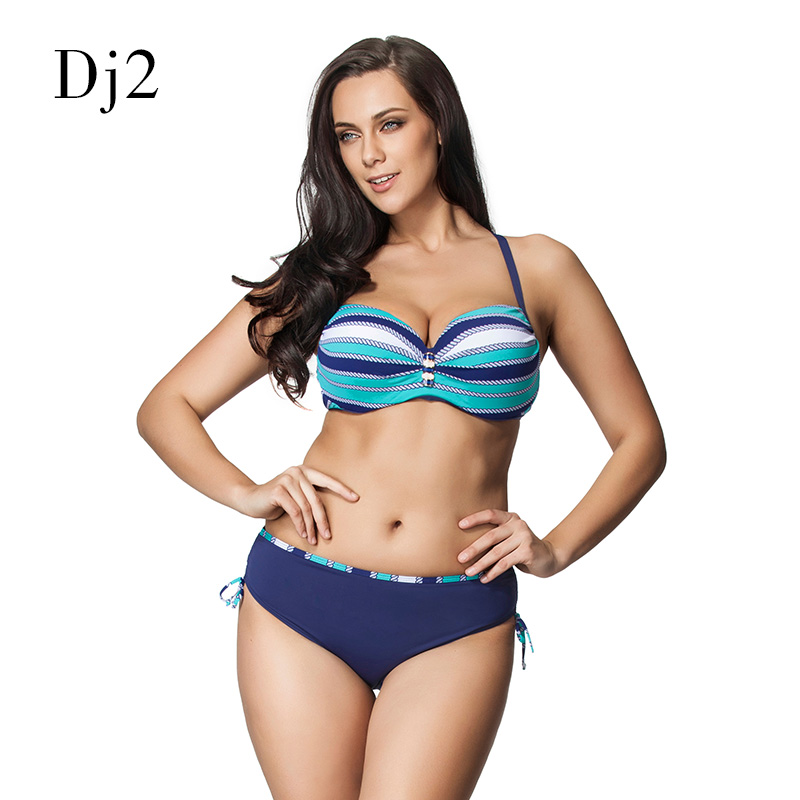 2017 Plus Size Bikini Women Ladies Sexy Retro Padded Push Up High Waist Bikinis Set Swimwear Swimsuit Bathing XXXL newest plus size bikini women ladies sexy retro padded push up high waist bikinis set swimwear swimsuit bathing xxxl