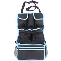 Car Seat Back Organizer Backseat Storage Bag Car Seat Protection Net Holder Multi Pocket Travel Car