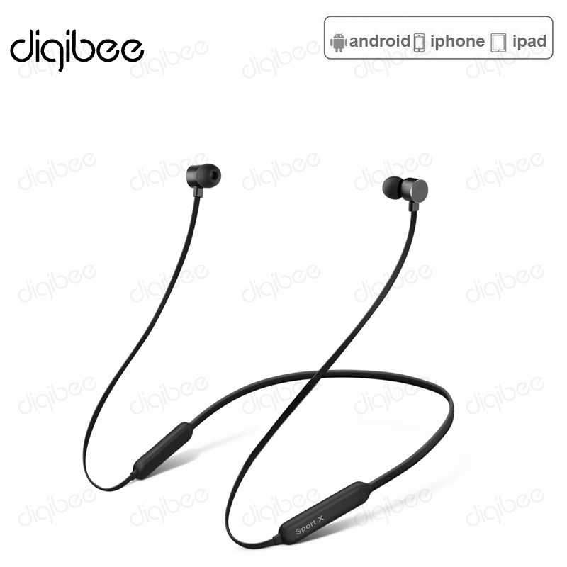 Neckband 3D Bass Stereo Bluetooth Earphone Sports Wireless Headphones Magnetic Bluetooth Headset for Xiaomi iPhone X Android iOS