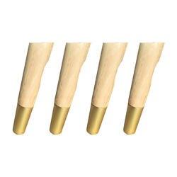 4,5x18,5x2,5 см простые Стиль резиновые ножки древесины Диагональ боковые крепления мебель ноги Таблица ножки для тумбы с выточки