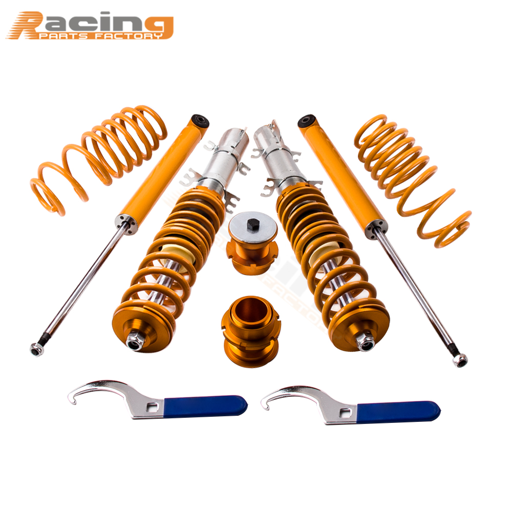 for Volkswagen VW GOLF MK4 Bora BEETLE 1.4 1.6 1.8T 2.0 Coilover Suspension Suspensions Damper for Jetta IV sedan/wagon 2WD MK4 воздушный фильтр 1j0201801h vw bora mk4