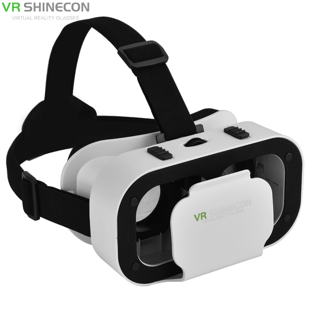 VR Box 3D Glasses For 4.7-6.0 inch Phone VR SHINECON 5.0 VR Box With Gamepad Virtual Reality