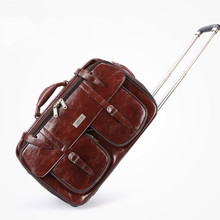 valiz bag women and men travel commercial computer luggage trolley case new style travel luggage lock