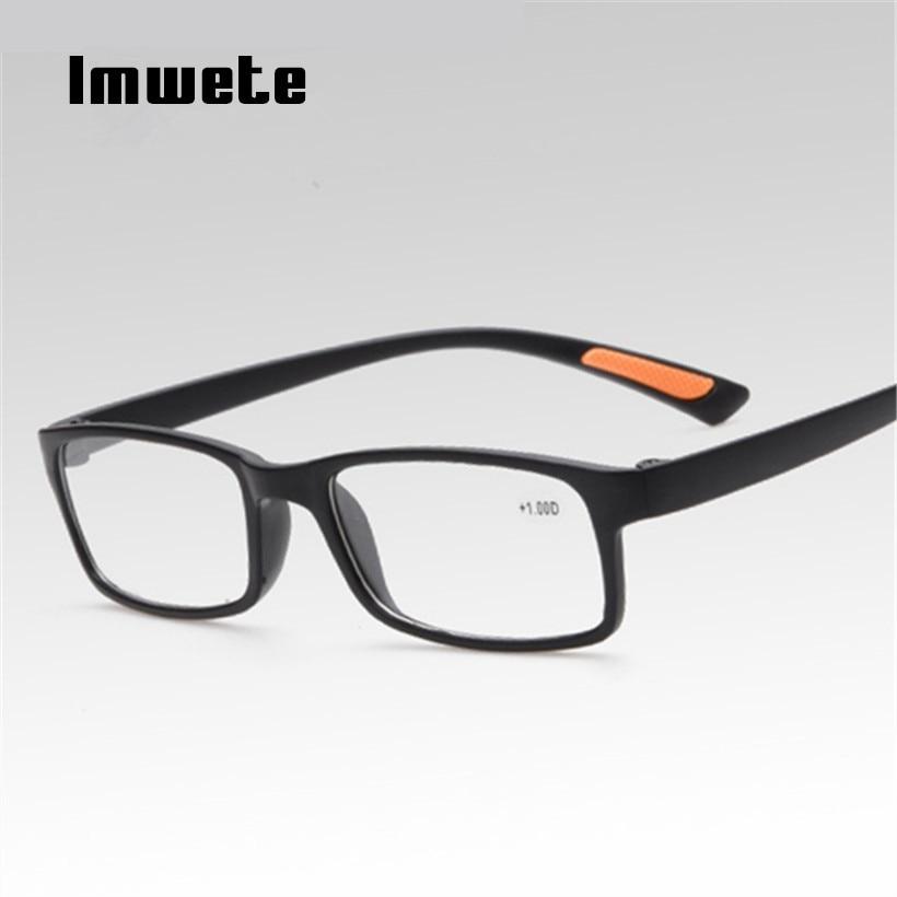 Reading Glasses Men Women TR90 Prescription Glasses Resin elder HD Reading Presbyopic Glasses 1.0 1.5 2.0 2.5 3.0 4.0