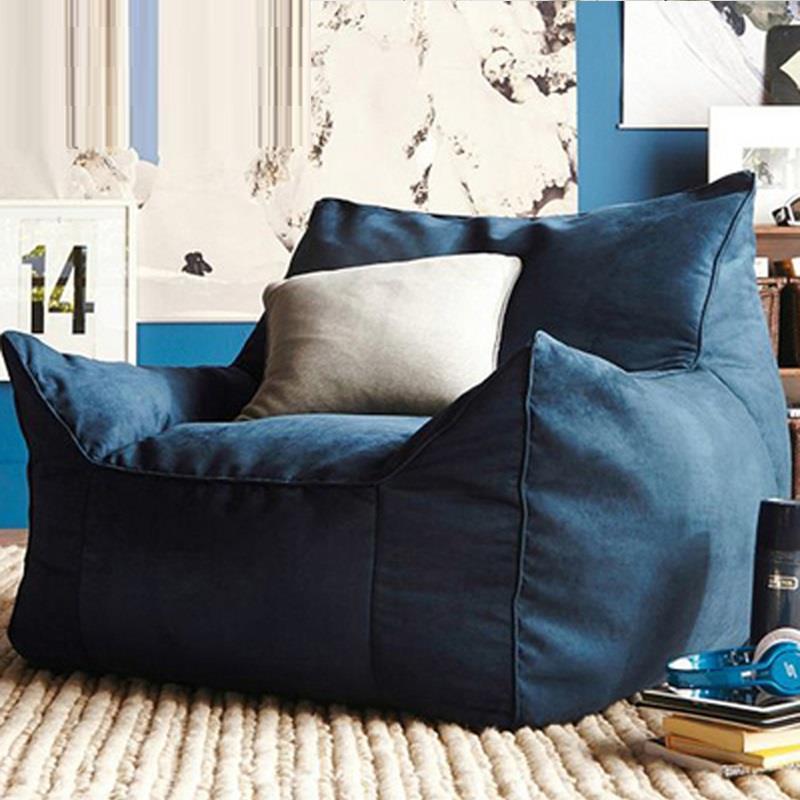 Poltrona Fauteuil Sedie Sandalyeler Silla Single Tatami Kids Bed Copridivano Poef Computer Beanbag Chair Cadeira Sofa Bean Bag 2