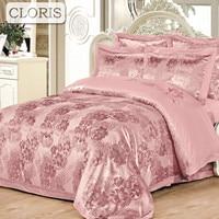 SILK PLACE 2016 Cotton Bed Linen Queen King Size Bedding Sets Fashion Jacquard Duvet Cover Flat