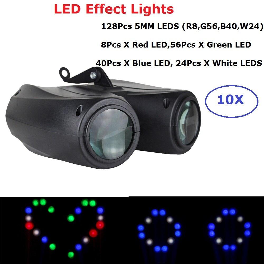 Effet d'étape de 20 W LED allume la haute qualité 128 pièces 5 MM Super lumineux LED S boules de miroir éclairage d'étape d'effet de Disco de DJ pour des ventes de DJ de KTV