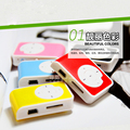 2016 venda quente mini clipe de metal usb mp3 music media player apoio às micro sd tf mp3 player # et180