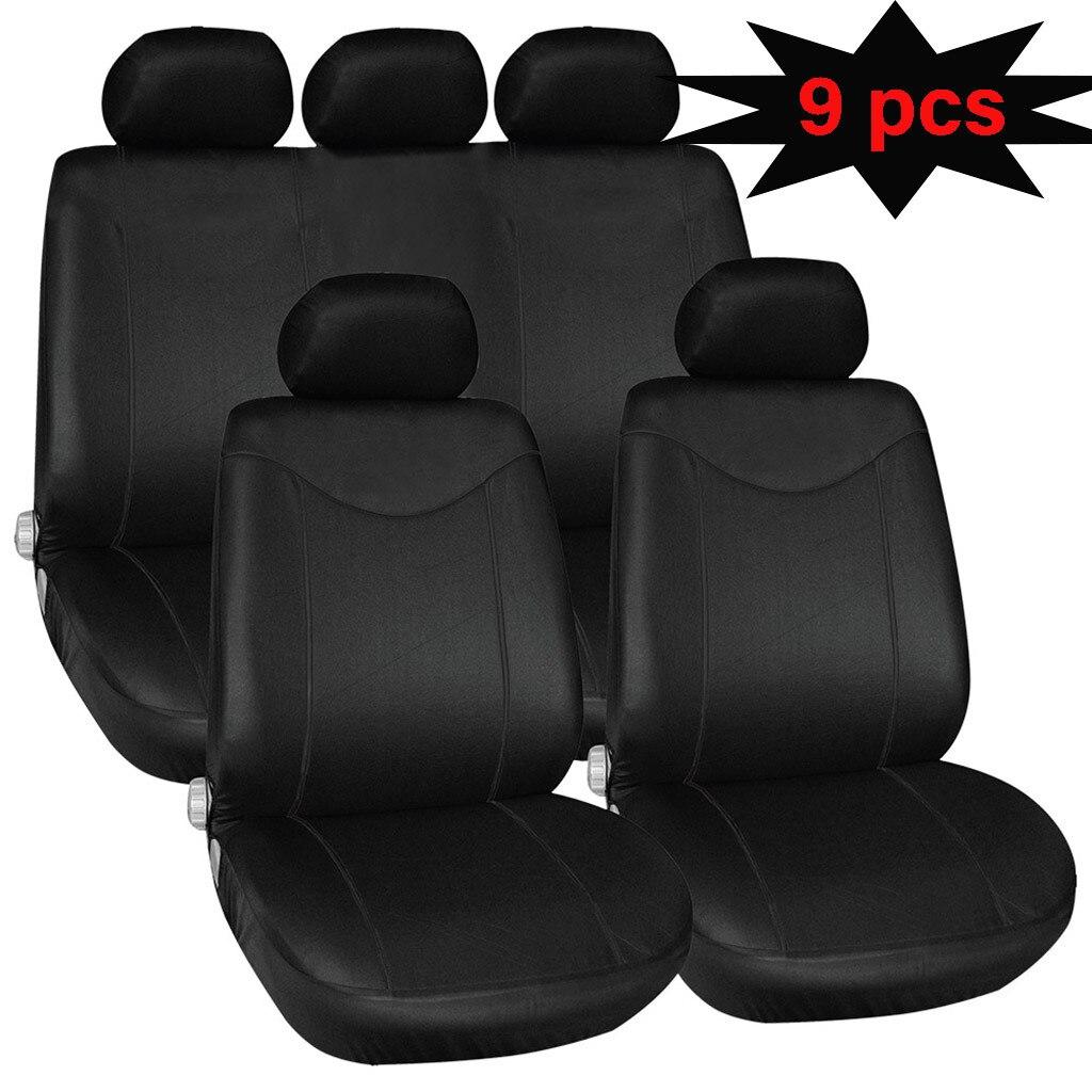 Car-Cover Interior-Accessories Automobiles-Seat Universal 9PCS Black TIROL Funda-Asiento