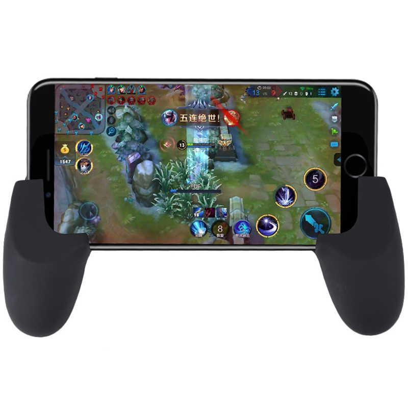 ゲームジョイスティックグリップキャップカバーハンドルゲームコントローラ用pubg/ルールの生存/ナイフアウトスマート携帯電話ジョイスティックロッカーゲームパッド