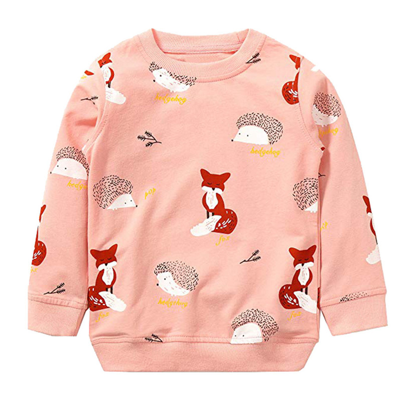 lovely kid clothes girls long sleeve cartoon fox bow print tops hoodie clothes cute clothes camisas hombre manga larga 4de17 (19)