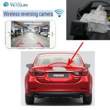 цена на YESSUN For Mazda 6 Mazda6 Mazda Atenza 2013~2015 Reverse Camera Auto Wireless Rear View Camera Rear View Camera Night Vision