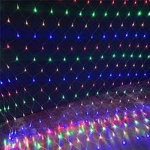 LED Net Mesh Fairy web String Light 1.5*1.5M 3*2M 6*4M Waterproof Indoor Outdoor Home Garden Party Outdoor Holiday Decoration(China)