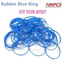 100 sztuk/partia wysokiej jakości guma niebieski pierścień mikrofon kratki nadające się do Shure, Beta87/Beta87A
