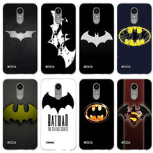 Capas macias do telefone móvel do silicone de tpu para o logotipo do batman do super-herói 5x v10 v20 v30 do g4 g5 mini g6 k4 k7 k8 k10 2017(China)