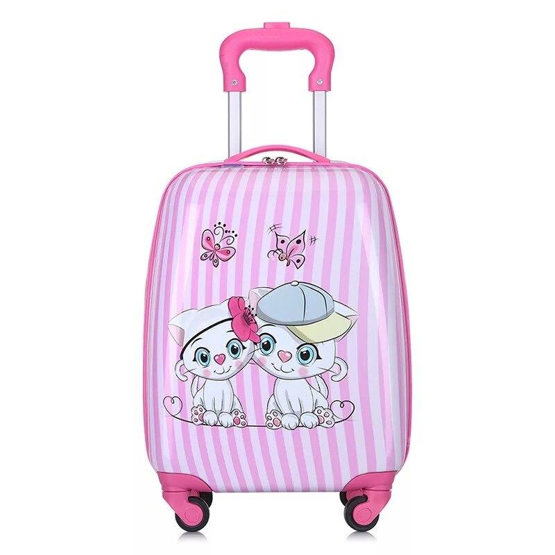 Dla dzieci anime etui na wózek chłopiec szkoła podróży walizka toczenia walizka dziewczyna różowy cartoon wózek torba dla dzieci torba na bagaż na kółkach w Walizki od Bagaże i torby na  Grupa 1